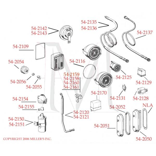 SPEEDOMETER CABLE STANDARD (MANUAL)